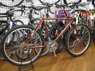 自転車の 丸石自転車 エンペラー : この自転車を組み上げていると ...